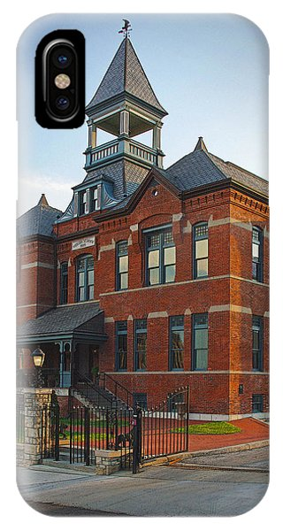 IPhone Case featuring the photograph Webster House by Jim Mathis