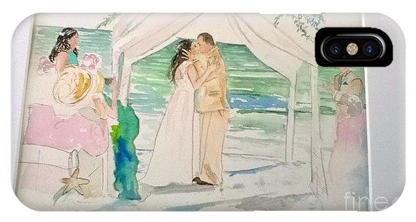 Wedding At Naples, Florida IPhone Case