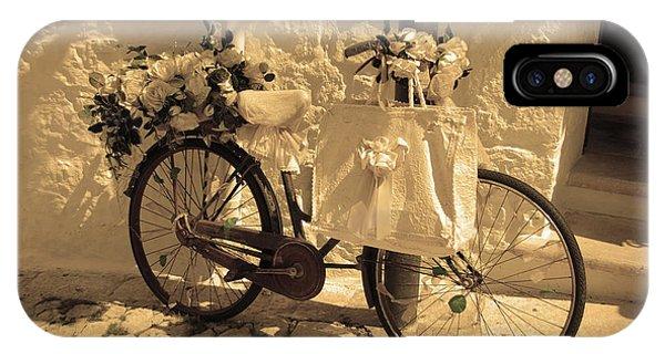 Wedding Bike IPhone Case