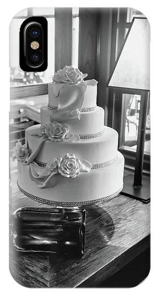 Wedding Cake Bw Series 0956 IPhone Case
