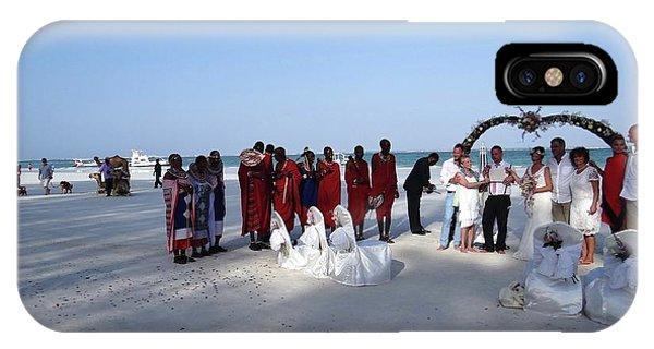 Exploramum iPhone Case - Wedding In The Afternoon Shadow by Exploramum Exploramum