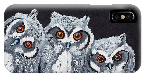 Wee Owls IPhone Case