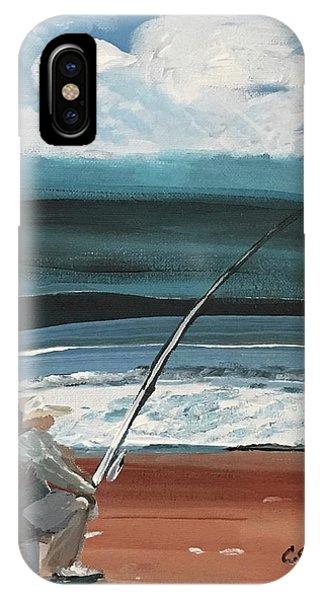 Weekend Fisherman IPhone Case