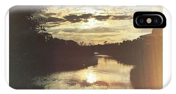 Cloud iPhone Case - Weeks Bayou Sunrise #sky #sunrise by Joan McCool