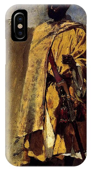 Weeks Edwin Moorish Guard IPhone Case