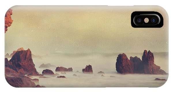Tidal Waves iPhone Case - Weep Not For The Memories by Laurie Search
