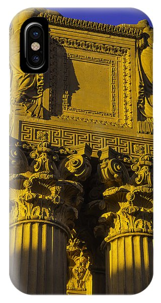 Weeping Females Palace Of Fine Arts IPhone Case