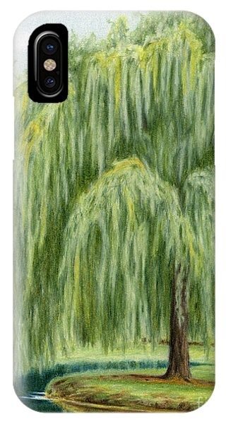 Under The Willow Tree IPhone Case