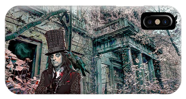 Alice Cooper iPhone Case - Welcome 2 My Nightmare by Mal Bray