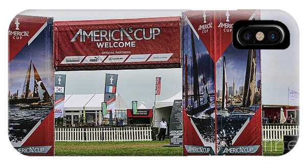 Welcome America's Cup IPhone Case