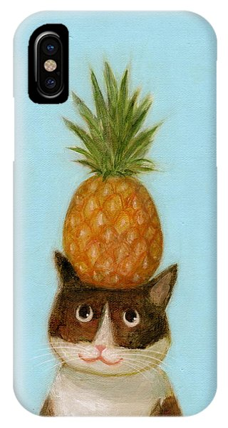 Welcome Cat IPhone Case