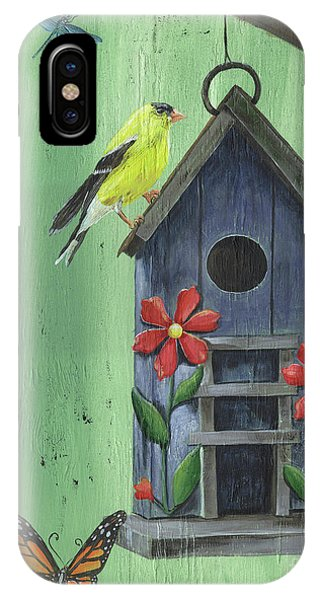 Welcome Goldfinch IPhone Case