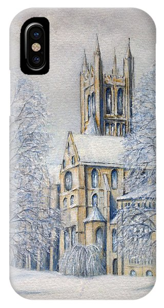 Come In From The Cold IPhone Case
