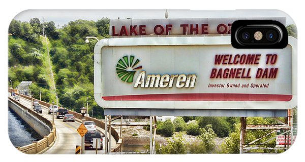 Welcome To Bagnell Dam IPhone Case