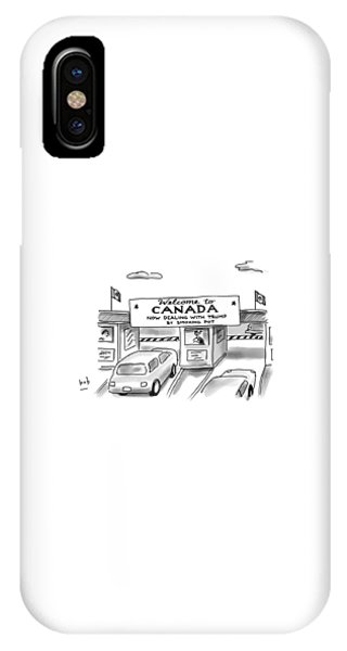 Welcome To Canada IPhone Case