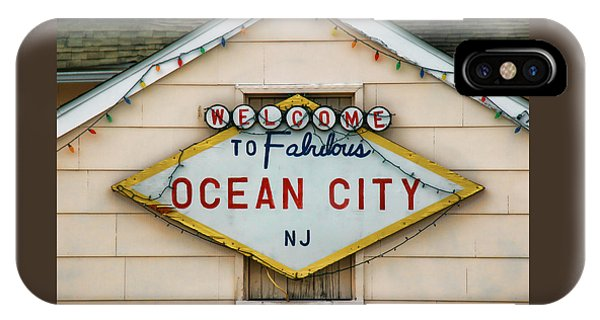 Welcome To Fabulous Ocean City N J IPhone Case