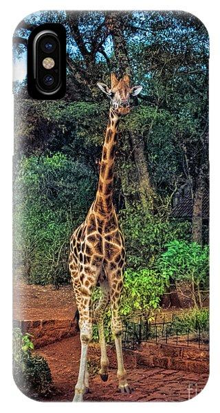 Welcome To Giraffe Manor IPhone Case