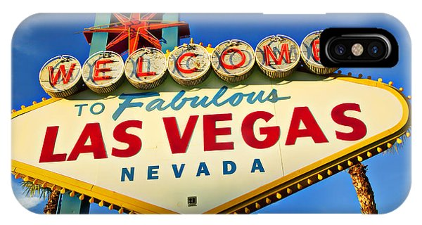Welcome To Las Vegas Sign IPhone Case