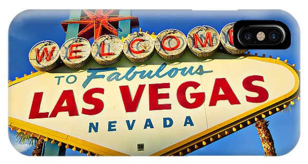Travel iPhone Case - Welcome To Las Vegas Sign by Garry Gay