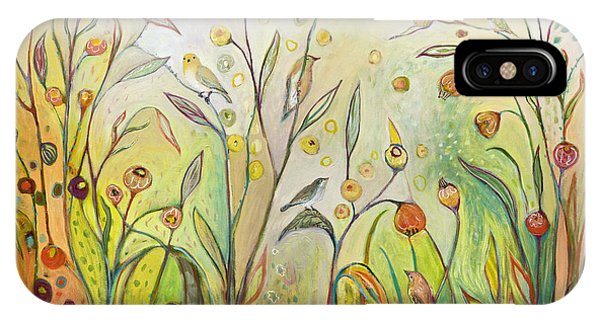 Jungle iPhone Case - Welcome To My Garden by Jennifer Lommers
