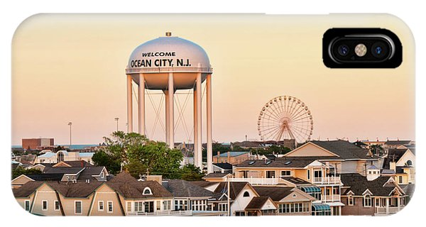 IPhone Case featuring the photograph Welcome To Ocean City, Nj by Kristia Adams