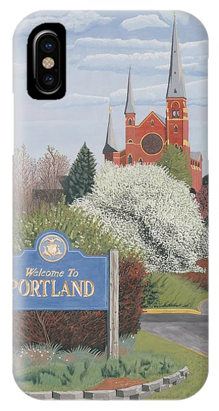 Welcome To Portland IPhone Case