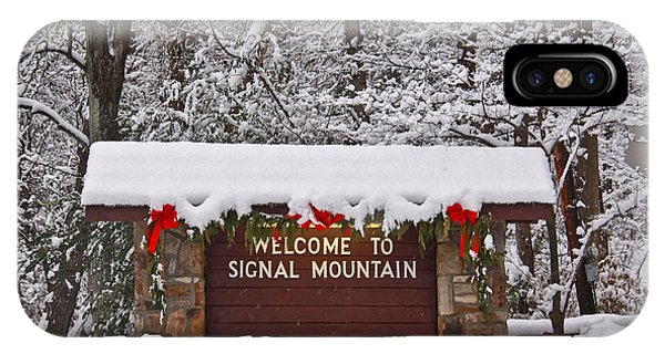 Welcome To Signal Mountain IPhone Case