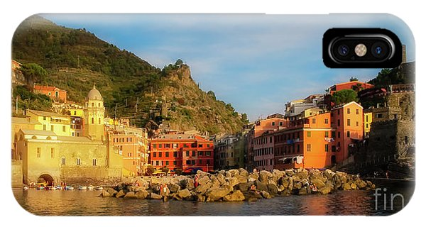 Welcome To Vernazza IPhone Case