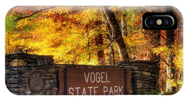 Welcome To Vogel State Park IPhone Case