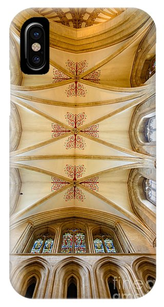 Wells Cathedral Ceiling IPhone Case