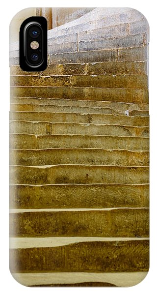 Wells Cathedral Steps IPhone Case