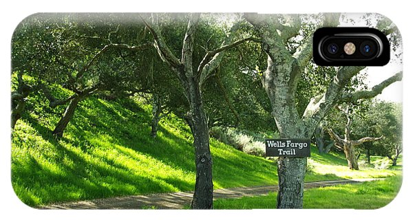 Wells Fargo Trail IPhone Case