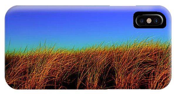 Wells Rachel Carson Wildlife Refuge Grass And Dunes IPhone Case