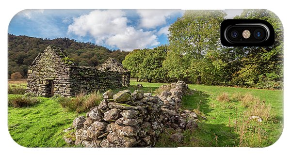 Welsh Cottage Ruin IPhone Case