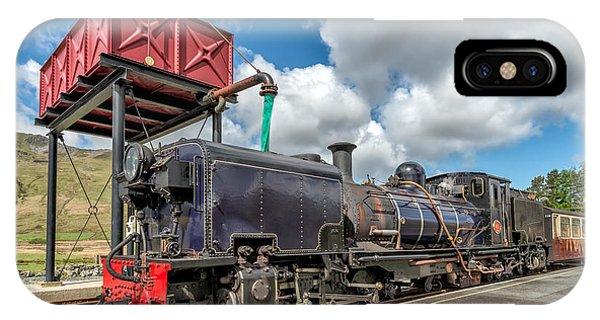 Sleeper iPhone Case - Welsh Highland Railway by Adrian Evans