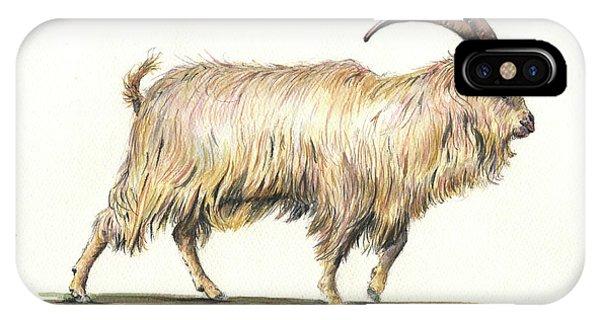 Welsh Long Hair Mountain Goat IPhone Case