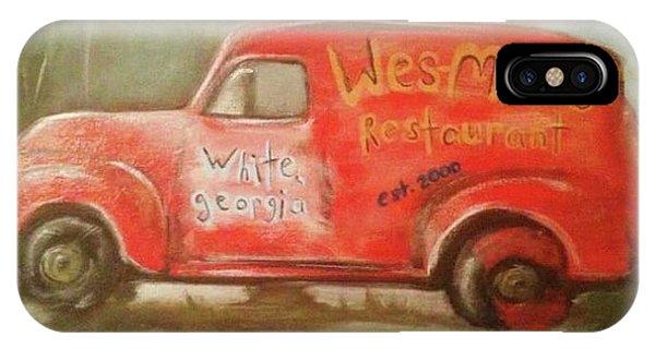 Samantha iPhone Case - Wes Mans Truck  by Samantha Centers