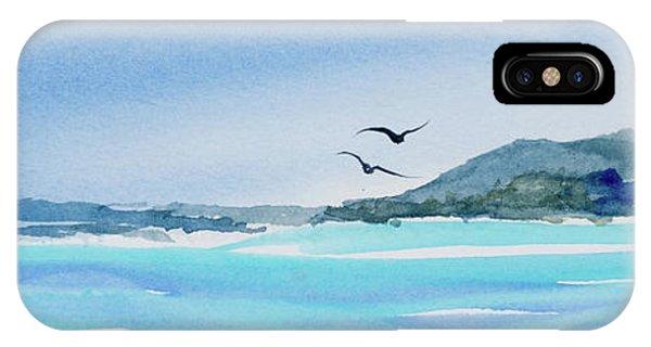 West Coast  Isle Of Pines, New Caledonia IPhone Case