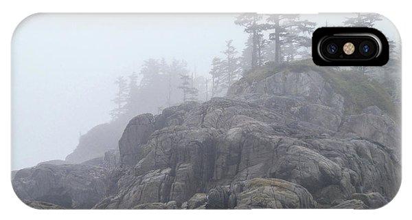 West Coast Landscape Ocean Fog I IPhone Case