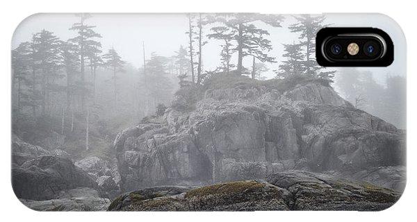 West Coast Landscape Ocean Fog IIi IPhone Case