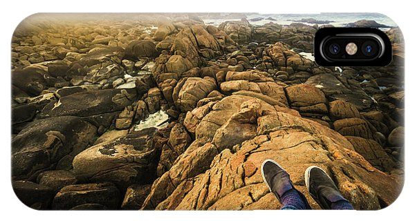 Discovery iPhone Case - West Coast Tasmania Sightseeing Tour by Jorgo Photography - Wall Art Gallery