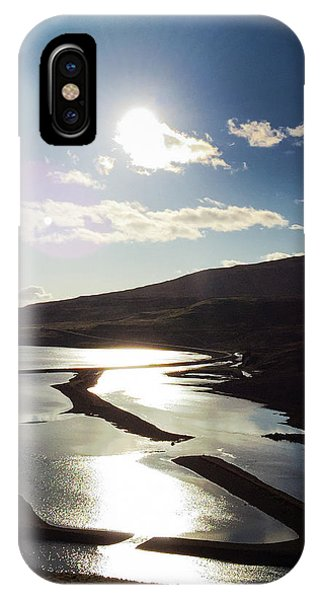 Sunny iPhone Case - West Fjords Iceland Europe by Matthias Hauser