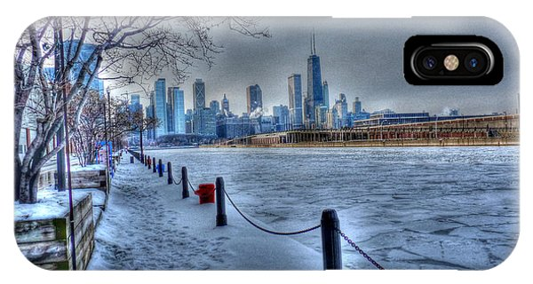 West From Navy Pier IPhone Case