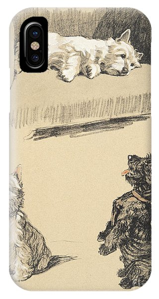 West Highlanders And Scotch IPhone Case