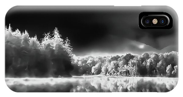 IPhone Case featuring the photograph West Lake Backlit by David Patterson