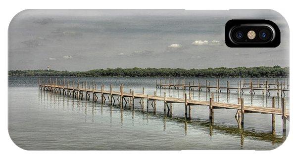 West Lake Docks IPhone Case