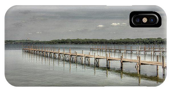 West Lake Docks IPhone Case
