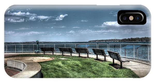 West Lake Okoboji Pier IPhone Case