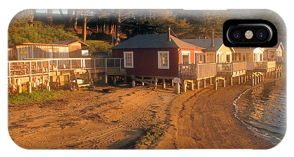 West Marin Nick's Cove Cottages IPhone Case