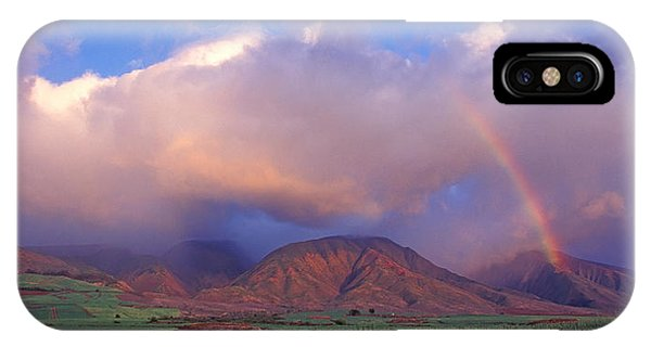West Maui Rainbow IPhone Case